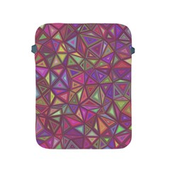 Triangle Background Abstract Apple Ipad 2/3/4 Protective Soft Cases by Celenk