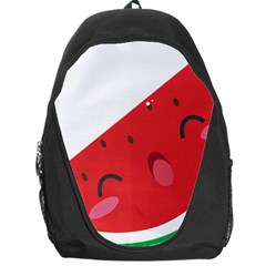 Watermelon Red Network Fruit Juicy Backpack Bag by Celenk