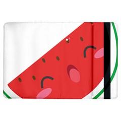 Watermelon Red Network Fruit Juicy Ipad Air Flip by Celenk