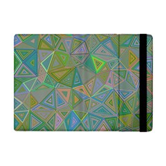 Triangle Background Abstract Apple Ipad Mini Flip Case by Celenk