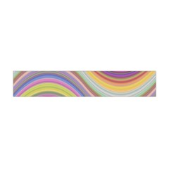 Wave Background Happy Design Flano Scarf (mini) by Celenk