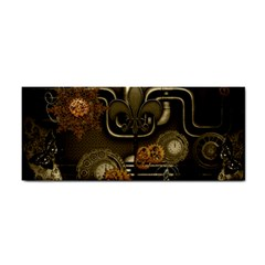 Wonderful Noble Steampunk Design, Clocks And Gears And Butterflies Cosmetic Storage Cases by FantasyWorld7
