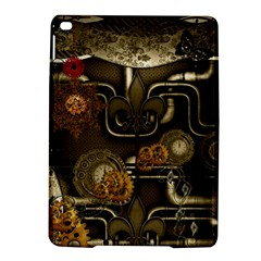 Wonderful Noble Steampunk Design, Clocks And Gears And Butterflies Ipad Air 2 Hardshell Cases by FantasyWorld7
