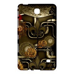 Wonderful Noble Steampunk Design, Clocks And Gears And Butterflies Samsung Galaxy Tab 4 (8 ) Hardshell Case  by FantasyWorld7