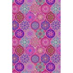 12 Geometric Hand Drawings Pattern 5.5  x 8.5  Notebooks Back Cover