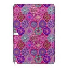 12 Geometric Hand Drawings Pattern Samsung Galaxy Tab Pro 10 1 Hardshell Case by Cveti