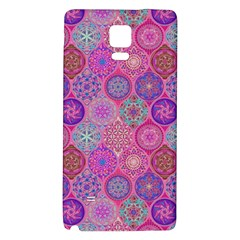 12 Geometric Hand Drawings Pattern Galaxy Note 4 Back Case by Cveti