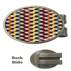 Native American 7 Money Clips (oval)  by Cveti