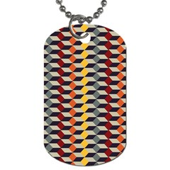 Native American 7 Dog Tag (one Side) by Cveti