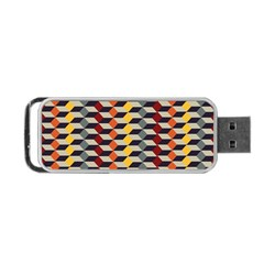 Native American 7 Portable Usb Flash (one Side) by Cveti