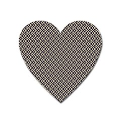 Native American Pattern 2 Heart Magnet by Cveti