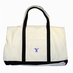 Heyyou Two Tone Tote Bag by Hanger