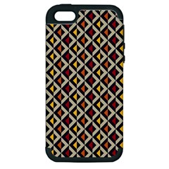 Native American Pattern 5 Apple Iphone 5 Hardshell Case (pc+silicone) by Cveti