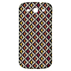 Native American Pattern 5 Samsung Galaxy S3 S Iii Classic Hardshell Back Case by Cveti