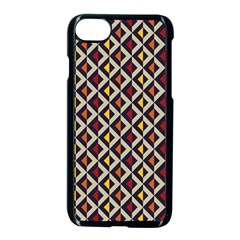 Native American Pattern 5 Apple Iphone 7 Seamless Case (black)