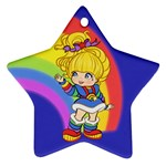 Rainbows Make Everything Better Star Ornament