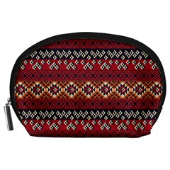Native American Pattern 8 Accessory Pouches (large)  by Cveti