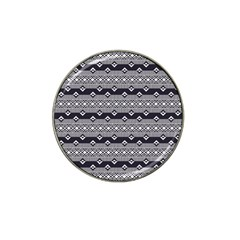 Native American Pattern 9 Hat Clip Ball Marker (4 Pack) by Cveti