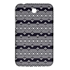 Native American Pattern 9 Samsung Galaxy Tab 3 (7 ) P3200 Hardshell Case  by Cveti