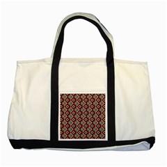 Native American 10 Two Tone Tote Bag by Cveti