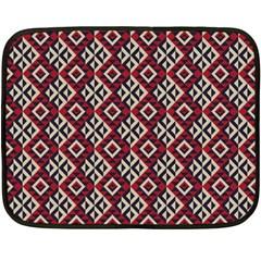 Native American 10 Double Sided Fleece Blanket (mini)  by Cveti