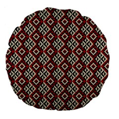 Native American 10 Large 18  Premium Flano Round Cushions by Cveti