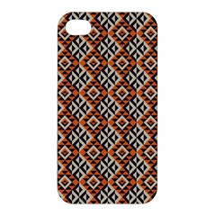Native American Pattern 11 Apple Iphone 4/4s Hardshell Case by Cveti