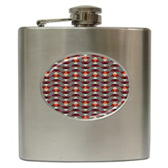 Native American 13 Hip Flask (6 Oz) by Cveti