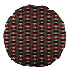Native American 13 Large 18  Premium Flano Round Cushions by Cveti