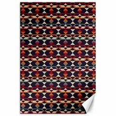 Native American Pattern 14 Canvas 20  X 30   by Cveti