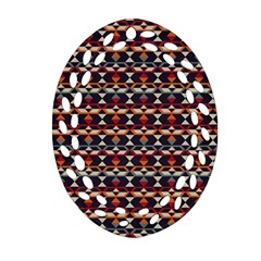 Native American Pattern 14 Ornament (oval Filigree) by Cveti
