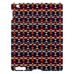 Native American Pattern 14 Apple Ipad 3/4 Hardshell Case by Cveti