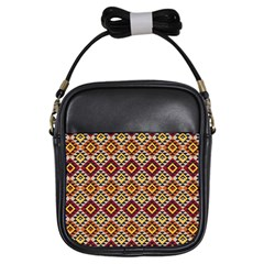 Native American Pattern 15 Girls Sling Bags by Cveti