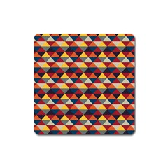 Native American Pattern 16 Square Magnet by Cveti