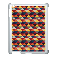 Native American Pattern 16 Apple Ipad 3/4 Case (white) by Cveti