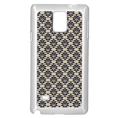 Native American 17 Samsung Galaxy Note 4 Case (white) by Cveti