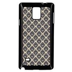 Native American 17 Samsung Galaxy Note 4 Case (black) by Cveti