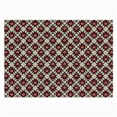 Native American Pattern 18 Large Glasses Cloth (2 Side) by Cveti