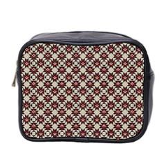 Native American Pattern 18 Mini Toiletries Bag 2 Side by Cveti