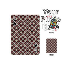 Native American Pattern 18 Playing Cards 54 (mini)  by Cveti