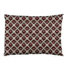 Native American Pattern 18 Pillow Case (two Sides) by Cveti