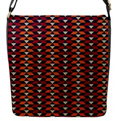 Native American Pattern 19 Flap Messenger Bag (s) by Cveti
