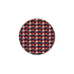 Native American Pattern 21 Golf Ball Marker (4 Pack) by Cveti