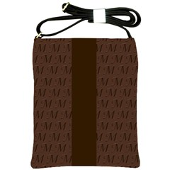 Mud Di Signature Chocolate Shoulder Sling Bag by MissUniqueDesignerIs