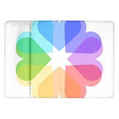 Heart Love Wedding Valentine Day Samsung Galaxy Tab 10 1  P7500 Flip Case by Celenk