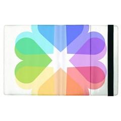 Heart Love Wedding Valentine Day Apple Ipad Pro 9 7   Flip Case by Celenk