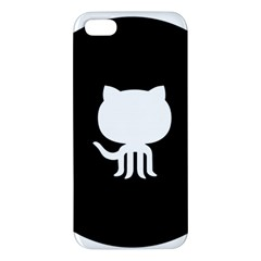 Logo Icon Github Apple Iphone 5 Premium Hardshell Case by Celenk
