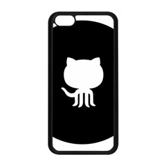 Logo Icon Github Apple Iphone 5c Seamless Case (black) by Celenk