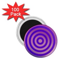 Circle Target Focus Concentric 1 75  Magnets (100 Pack)  by Celenk