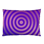Circle Target Focus Concentric Pillow Case (Two Sides) Front